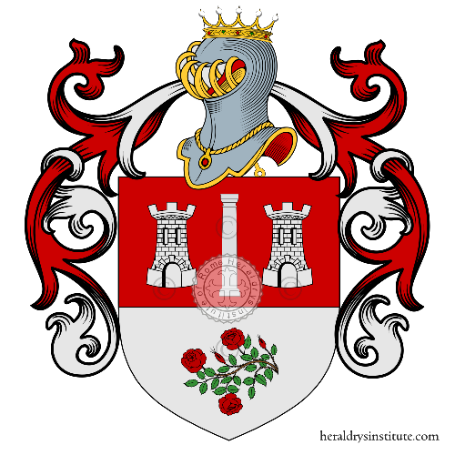 Coat of Arms of family Marongiu