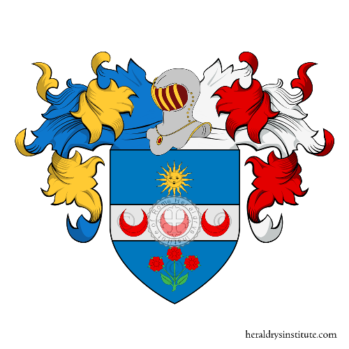 Coat of Arms of family Panfili (Marche)