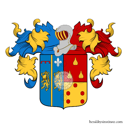 Coat of Arms of family Palermo (di) (Calabria)