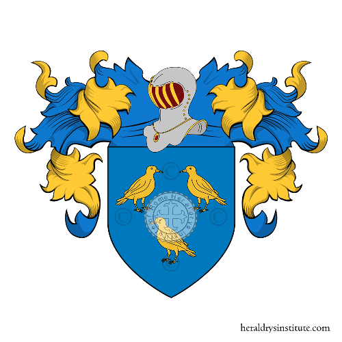 Coat of Arms of family Fanelli (Toscana, Umbria)