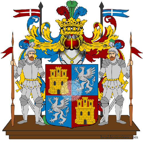 Coat of Arms of family Rastelletti