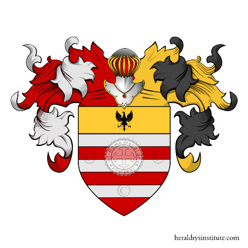 Coat of Arms of family Daverio (Lombardia)