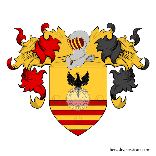 Coat of Arms of family Daverio o Daveri (Lombardia)