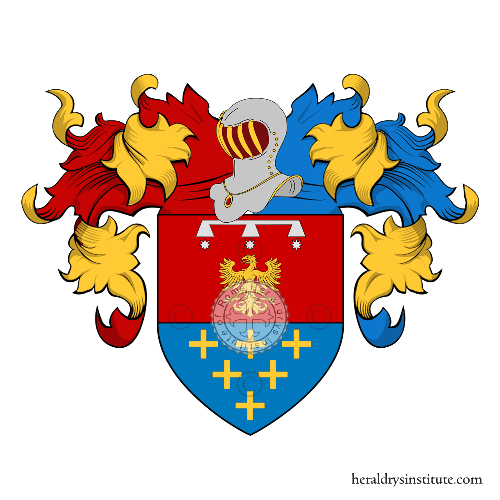 Coat of Arms of family Ruggeri (Lazio)