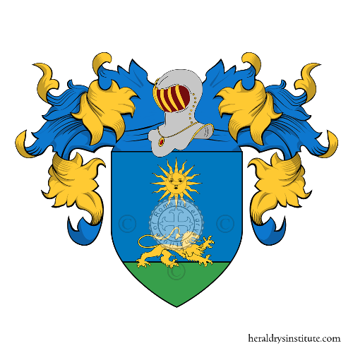 Coat of Arms of family Ruggeri (Cesena)