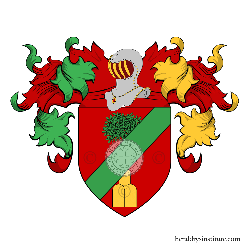 Coat of Arms of family Antoniacci