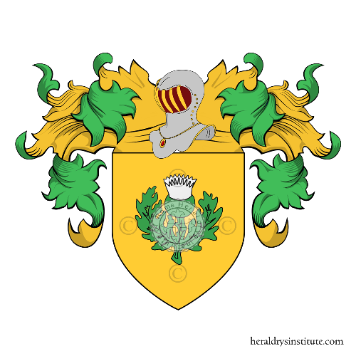 Coat of Arms of family Antoniazzi