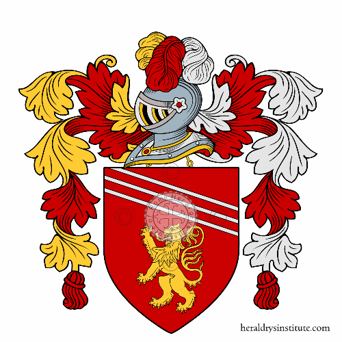 Coat of Arms of family Massarelli (Marche)
