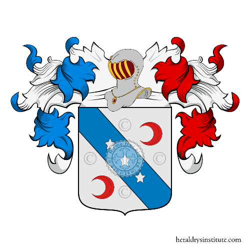 Coat of arms of family Cioli