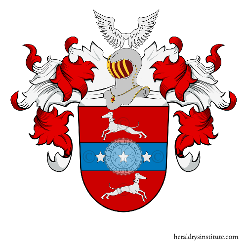 Coat of Arms of family Wenzel