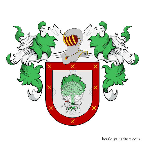 Coat of Arms of family Carriel