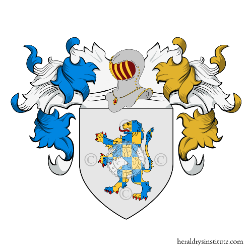 Coat of Arms of family Panzani