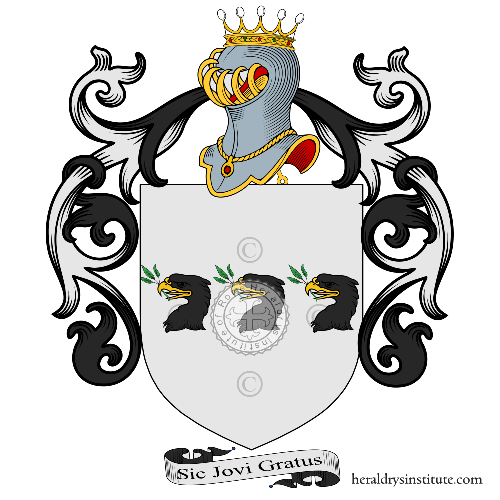 Coat of Arms of family Comello o Comelli