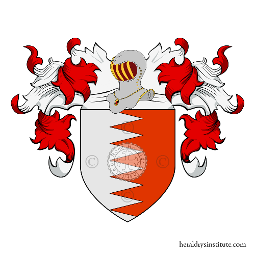 Coat of Arms of family Dinanni