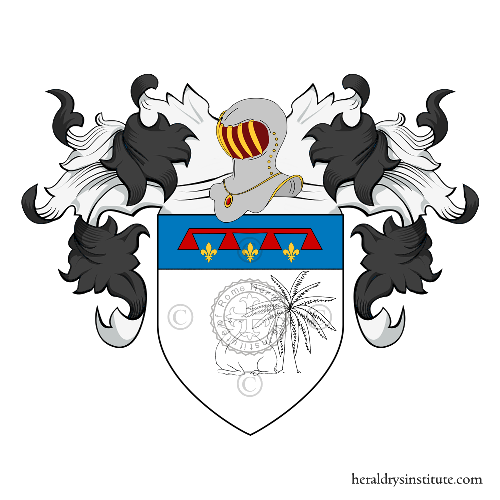 Coat of Arms of family Comelli