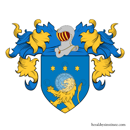 Coat of Arms of family Albergoni