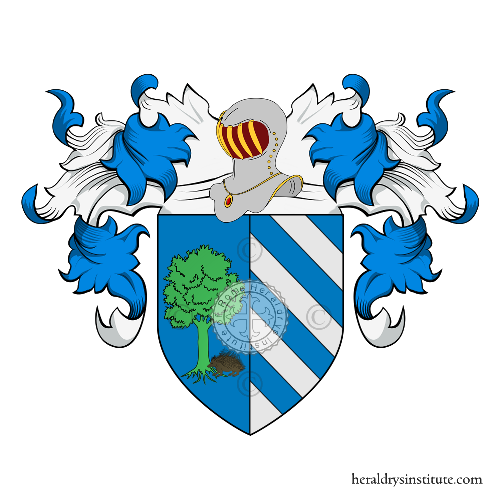 Coat of Arms of family Rizzi o Ricci