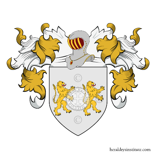 Coat of Arms of family Bianqueti