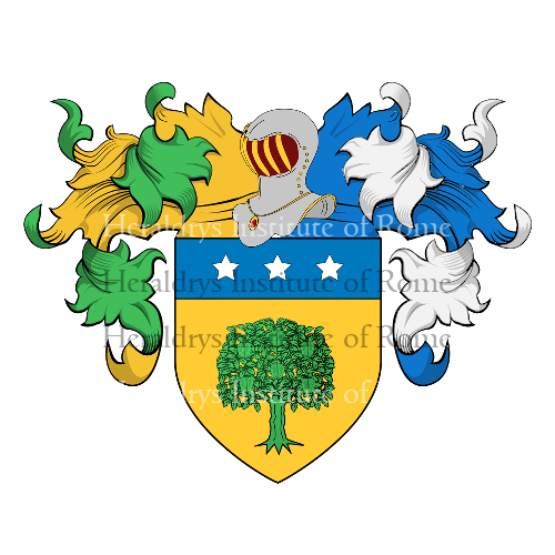 Coat of Arms of family Arnal