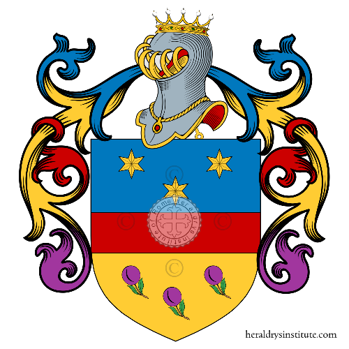 Coat of Arms of family Baraldi