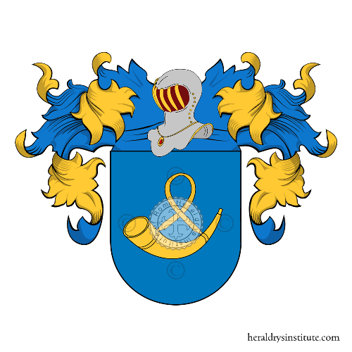 Coat of Arms of family Ron