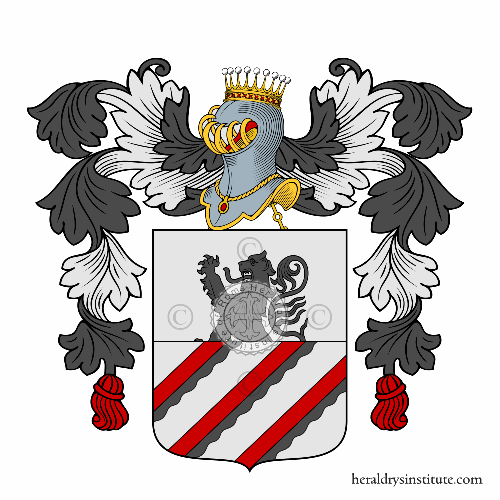 Coat of arms of family Vincenzi