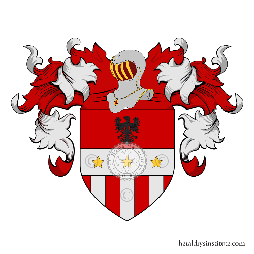Coat of Arms of family Salvatori