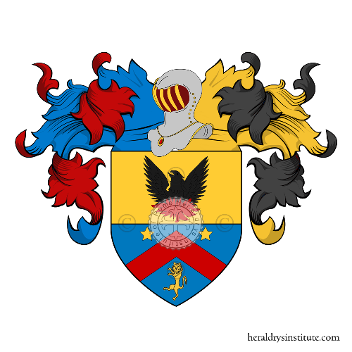 Coat of Arms of family Andreoli