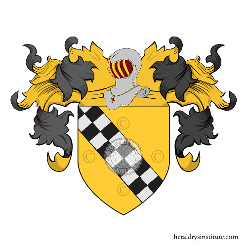 Coat of Arms of family Grivel