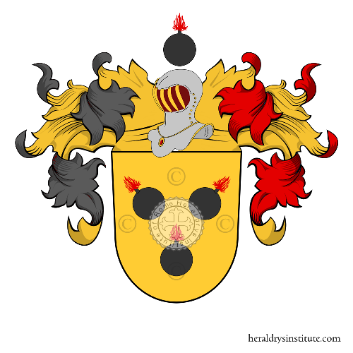 Coat of Arms of family Minder