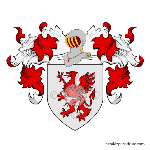 Coat of Arms of family Griffo