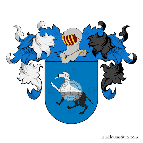 Coat of Arms of family Faus