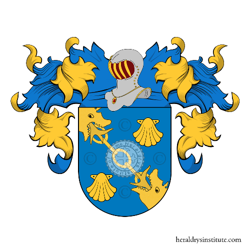 Coat of Arms of family Arall