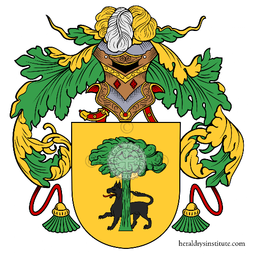 Coat of Arms of family Quiroga
