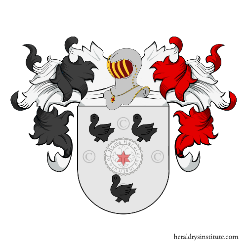 Coat of Arms of family Van Zeller