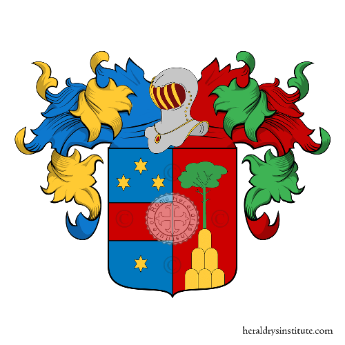 Coat of Arms of family Stelluti Cesi