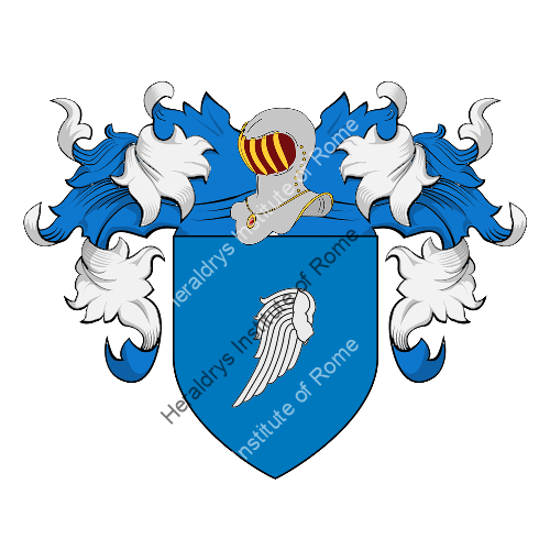 Coat of Arms of family LaVerghetta