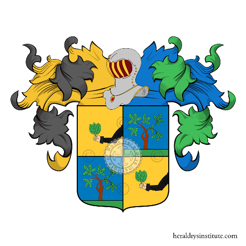 Coat of Arms of family Metelli