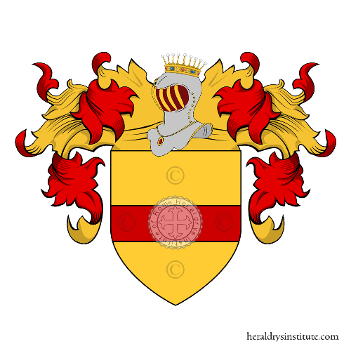 Coat of Arms of family Ganzerla