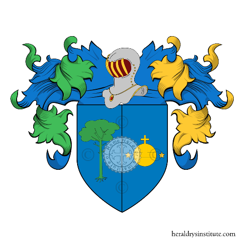 Coat of Arms of family Mazio