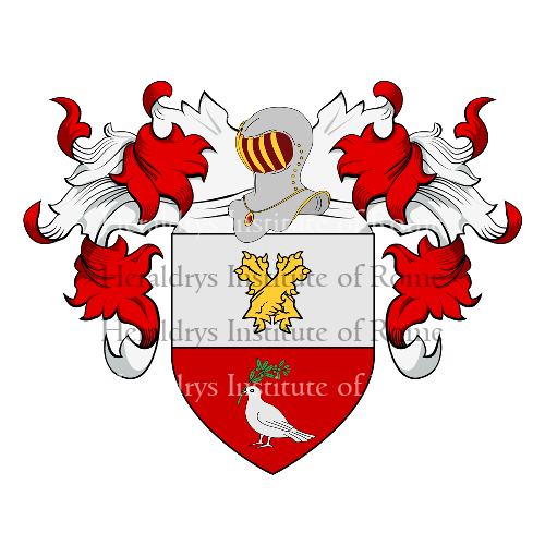 Coat of Arms of family Patrizzi