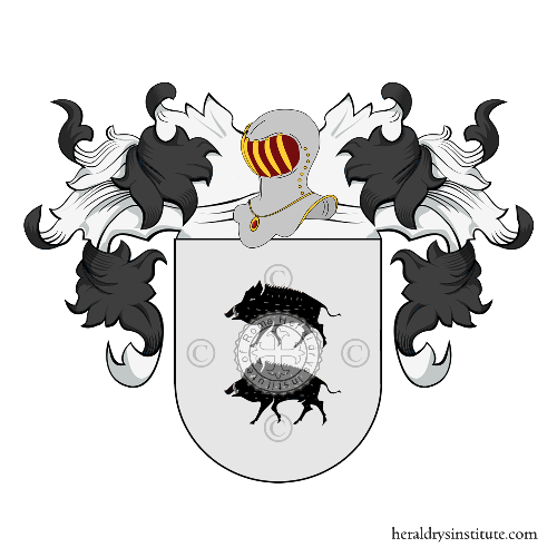 Coat of Arms of family Lecaros