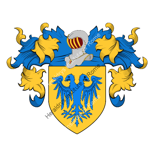 Coat of Arms of family Luconi