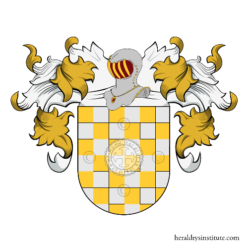 Coat of Arms of family Ariza