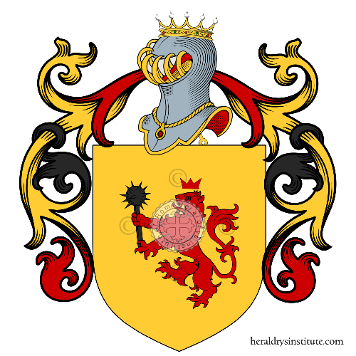 Coat of Arms of family Battaglione