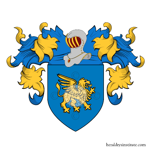 Coat of Arms of family Scotton