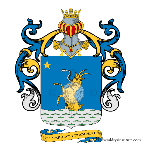 Coat of Arms of family Thaon Di Revel