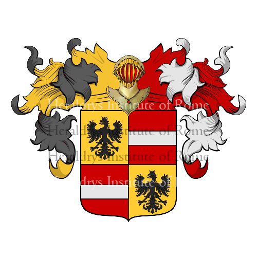 Coat of Arms of family Galassi