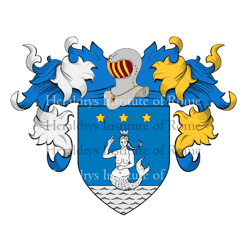 Coat of Arms of family Mari