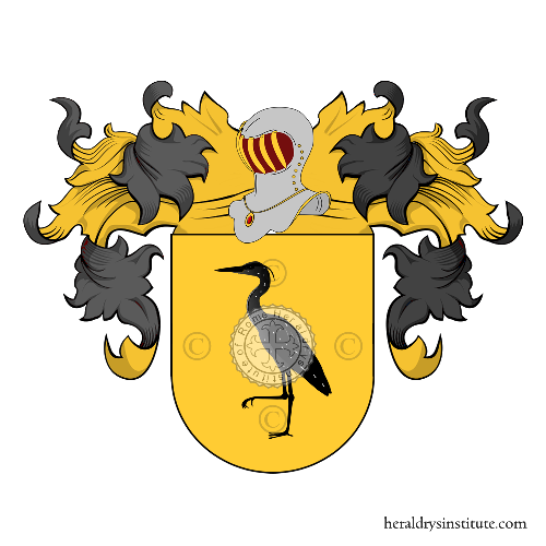 Coat of Arms of family Ladrón de Guevara